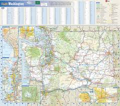State Of Washington Map by Washington State Wall Map By Globe Turner