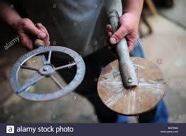 travelers stock images Travelers wheelwrights tools used for measuring the circumference jpg