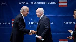 Joe Biden Resume Us Senator John Mccain Receives Liberty Medal From Joe Biden The