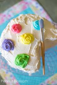 How To Make A Paint Palette Birthday Cake For An Art Party