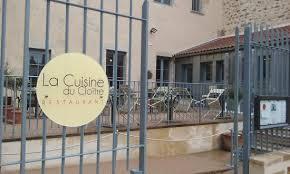 la cuisine limoges vue du restaurant avec terrasse photo de la cuisine du cloitre