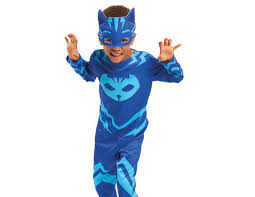 pj masks cat boy hero dress costume 4 6