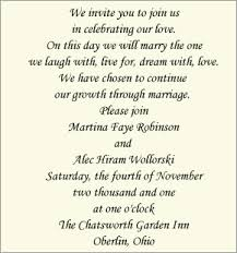 wedding invitation wording contemporary invitation wording and groom host wedding