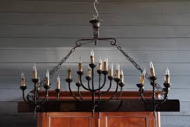 French Wooden Chandelier Very Large Country French Wood And Wrought Iron Chandelier