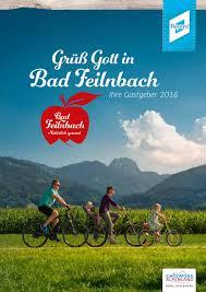Komplett K Hen K Henzeile Gastgeberverzeichnis Bad Feilnbach 2016 By Büro Montana Issuu