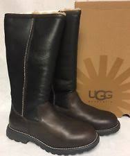 s ugg australia brown leather boots ugg australia boot brown leather 5490 s 5 ebay
