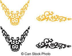 ornament decor pattern traditional ethnic ornament vector
