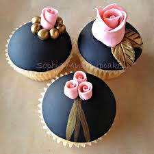 custom cupcakes black gold pink cupcakes cupcakes custom cupcakes