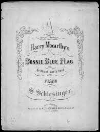 Bonny Blue Flag The Bonnie Blue Flag With Variations Library Of Congress