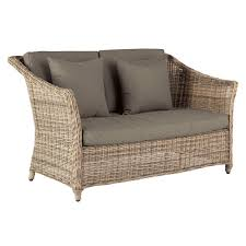 Brilliant Outdoor Two Seater Sofa Two Seater Rattan Outdoor Sofa - Rattan outdoor sofas