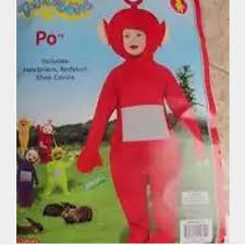 Teletubbie Halloween Costume Wanted Red Teletubbies Halloween Costume