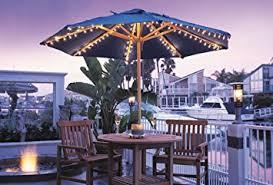 Patio Umbrella Lighting Umbrella Light Set For Most Standard Patio Umbrellas