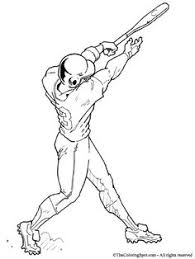 baseball players coloring pages diy pinterest coloring