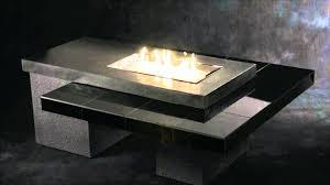 fire pits glass outdoor gas fire pit modern design designs