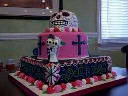 day of the dead wedding cake day of the dead wedding cake cakecentral