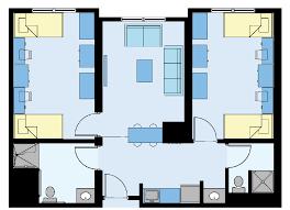 Floor Plan Of Child Care Centre Campus Housing