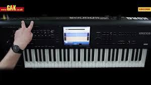 kronos intouch manual korg kronos music workstation demo part 3 youtube