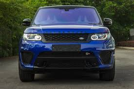 light blue range rover range rover sport svr 5 0 v8 unreg 7s auto