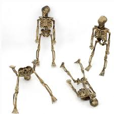 4pcs halloween small skeleton skull human bone halloween party