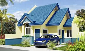 Unique Small Home Designs Picture Of Simple House Unique Small House Design 2014006 V2 View1