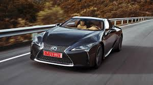 lexus luxury sports car lexus lc500 review super coupe tested in the us top gear