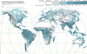 Accurate World Map by Average Annual Days With Precipitation World Map Gif 690x506