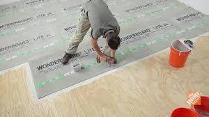Installing Floor Tile How To Install Ceramic And Porcelain Floor Tile Flooring How