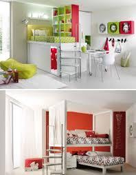 Kids Bed Sets Colorful U0026 Cozy Striking Series Of Lofted Kids Bedroom Sets