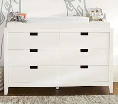 Pottery Barn Extra Wide Dresser Marlow Extra Wide Dresser U0026 Topper Set Pottery Barn Kids