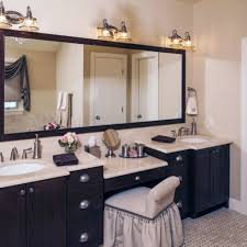 Bathroom Vanity Makeup Bathroom Bathroom Vanity With Makeup Station Lights Led Ideas