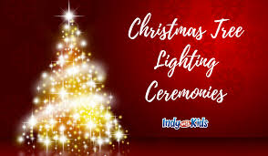 2017 christmas tree lighting ceremonies indy with kids