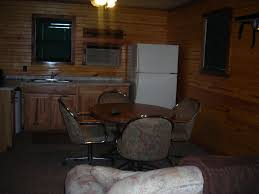 the rustic cabin arrowhead campground eminence mo