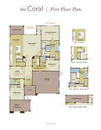 coral home plan by gehan homes in tierra del rio hacienda series