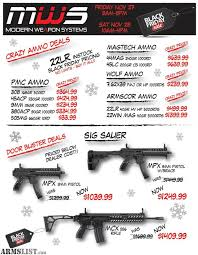 black friday gun sales armslist for sale black friday at modern weapon systems best