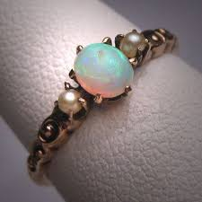 Opal Wedding Rings by 47 Best Opal Wedding Ring Images On Pinterest Opal Wedding Rings