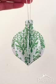 diy folded paper ornaments