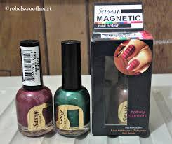 the rebel sweetheart nailed sassy colors magnetic nail polish