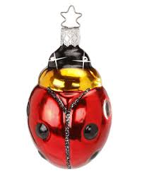 inge glas swarovski collection sparkling luck ladybug