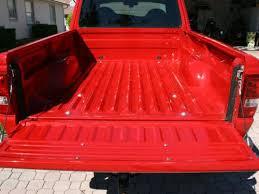 ford ranger bed applying a roll on durabak bedliner