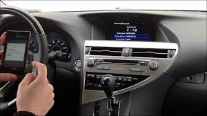 lexus nx westmont how to pair lg android os phone with 2013 lexus rx350 wmv youtube