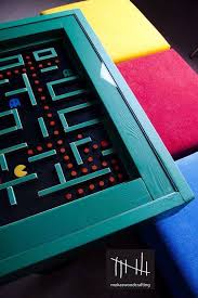pacman table by https www facebook com mokaswoodcrafting game