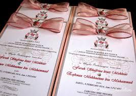 Invitation Engagement Card Handmade Custom Wedding Invitation Malaysia Wedding Stationery