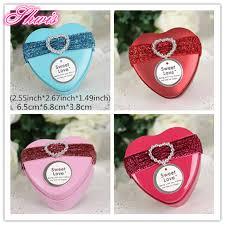 Heart Shaped Candy Boxes Wholesale Online Get Cheap Metal Heart Shape Candy Box Aliexpress Com