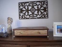 handmade dresser top valet or desk organizer by oregon hill