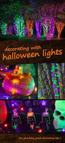 Halloween Eyeball Lights Best 25 Outdoor Halloween Ideas On Pinterest Outdoor Halloween