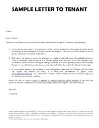 termination of tenancy letter from landlord commercial lease