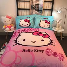 Hello Kitty Bedroom Set Twin Online Get Cheap 100 Cotton Baby Bedding Aliexpress Com Alibaba