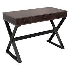 home loft concepts beverly 3 drawer writing desk reviews wayfair