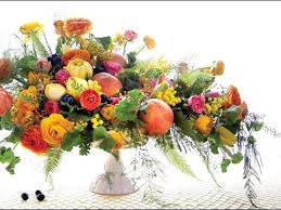 fruit and flowers fresh fruit and vegetable centerpiece