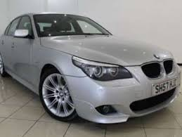 2007 bmw 520d m sport used bmw 5 series m sport 2007 cars for sale motors co uk